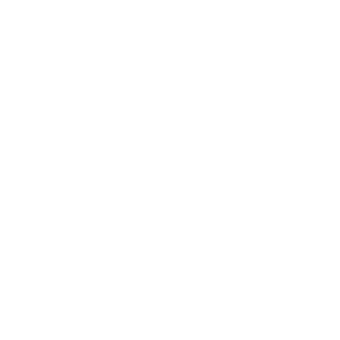 A white vector illustration of an Inuit Inukshuk. There are two large stones that touch the ground. On top of these stones, additional stones are stacked. The entire structure has a humanoid appearance.